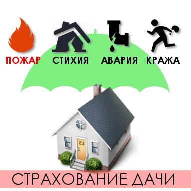 Страхование загородной недвижимости диктует здравый смысл.