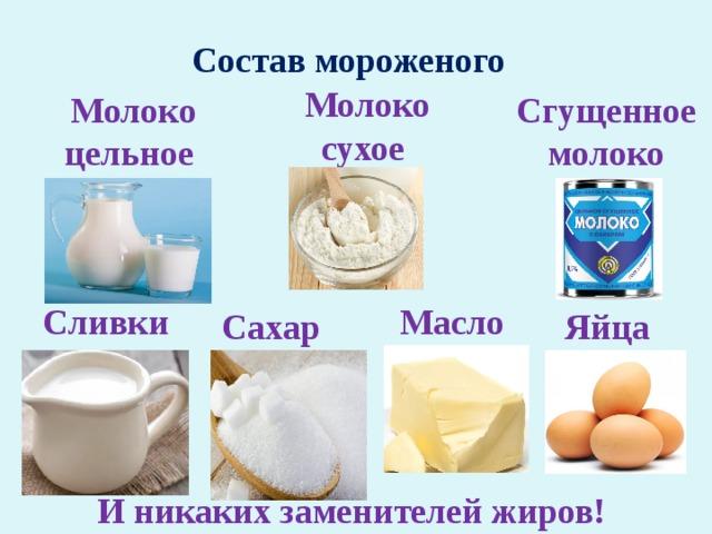 Современное мороженое. Еда или химическая бомба?