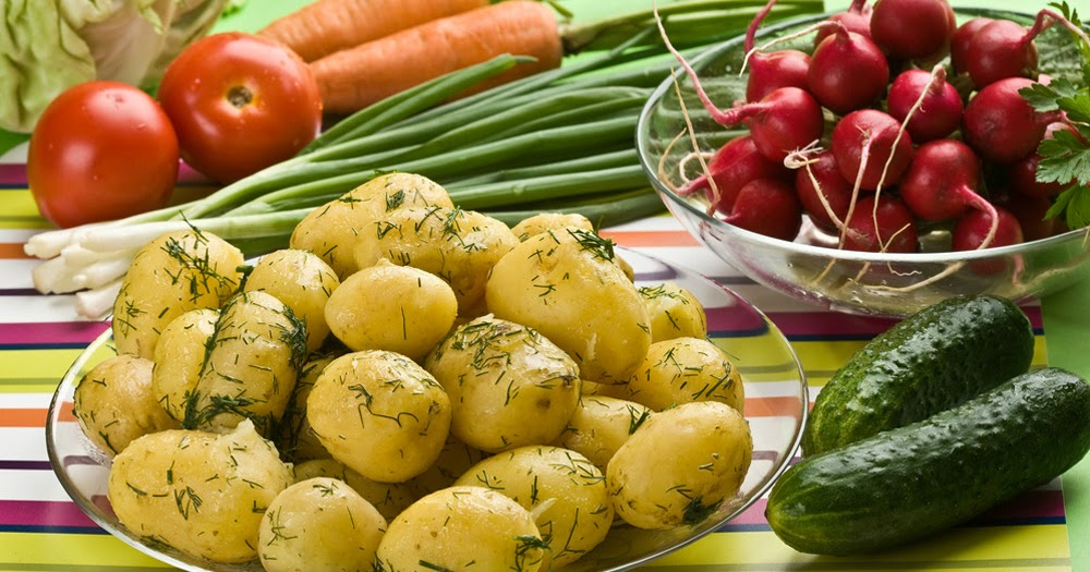 Выбирай правильный картофель.