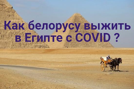 Как выжить с COVID в Египте.